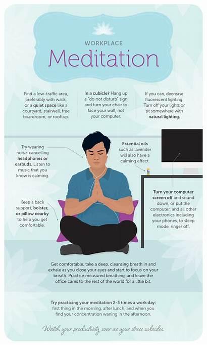 Meditation Workplace Minutes Fix Practice Five Change