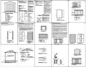 build shed 10 x 16 gable shed plans how to build diy blueprints pdf 12x16 12x24 8x10