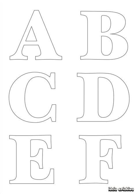 molde de letras para imprimir alfabeto completo fonte vazada ideia criativa gi barbosa