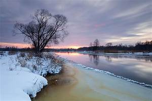 Sunset on the Freezing River « Jaak Sarv Photography
