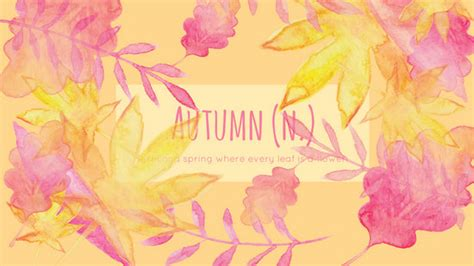 Autumn Wallpapers Watercolor by Pumpkin Autumn Wallpaper Templates By Canva