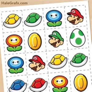 Super Mario Brothers Free Printables