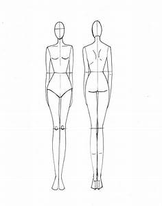fashion drawing template luxury of labour blog With textiles body templates