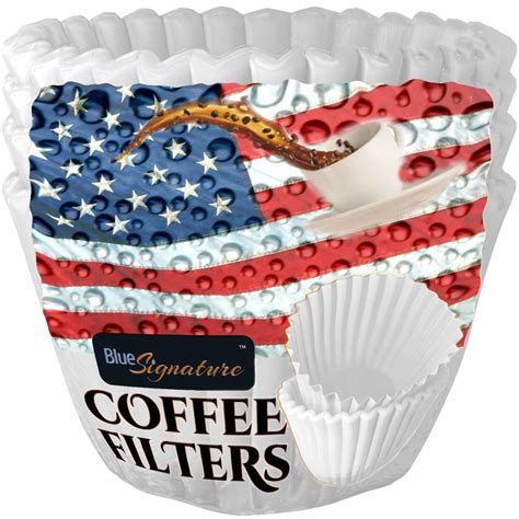 Paper coffee filters have been used as a traditional way to brew coffee and have existed for many decades. Coffee Filters Paper 8 to 12 cup Basket | Blue Signature