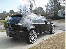 Sell used 2007 BMW X3 30si Sport 22' WHEELS CUSTOM M