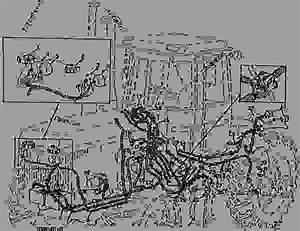 Left Side Wiring - Continued - Tractor John Deere 8650 - Tractor