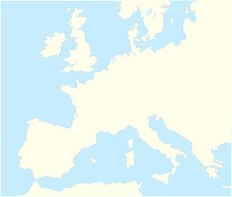 fileblank map western europe  borders atelier
