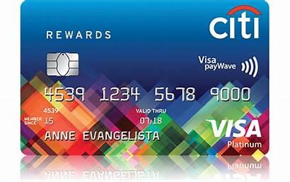 Rewards Credit Card Citi Citibank Points Bank
