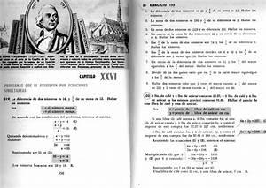 Problemas De Sistemas De Ecuaciones Baldor