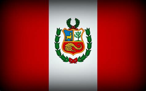 peru flag andes