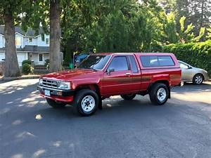 1986 Toyota Pickup 4x4 Sr5 Extra Cab 22re 4 U0026 39 Cyl 50k Miles