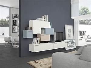 parete soggiorno moderna ikea Divani Colorati Moderni Per il soggiorno