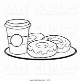 Pages Coloring Starbucks Cup Coffee Donut Cups Sprinkles Donuts Clipart Template Island Cool Node Coloringtop sketch template