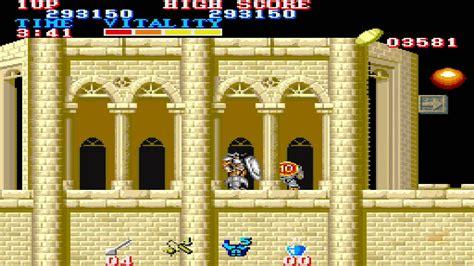 Retro Classic 1987 Arcade Black Tiger Black Dragon Old