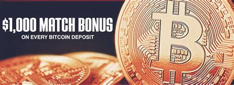 Most popular casinos to get a bitcoin bonus. Ignition Casino up to $1,000 Welcome Bonus with Bitcoin | Casino Bonus Codes 365
