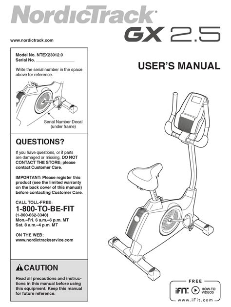 Nordictrack Gx 3.9 Sport Reviews | Exercise Bike Reviews 101