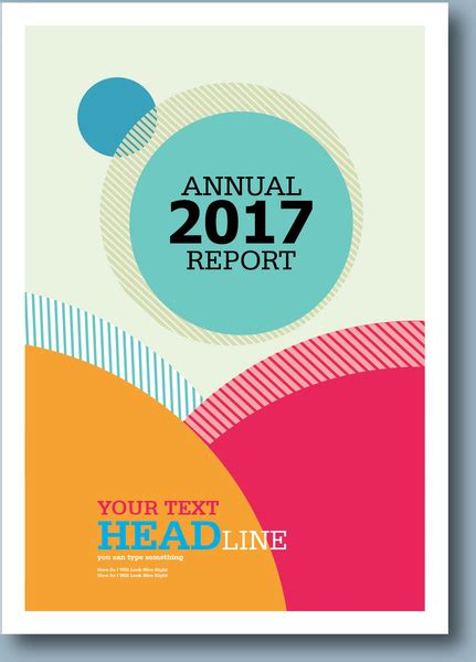 free annual report annual report cover page free vector download 6 567 free