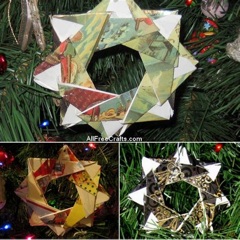 christmas card stars all free crafts