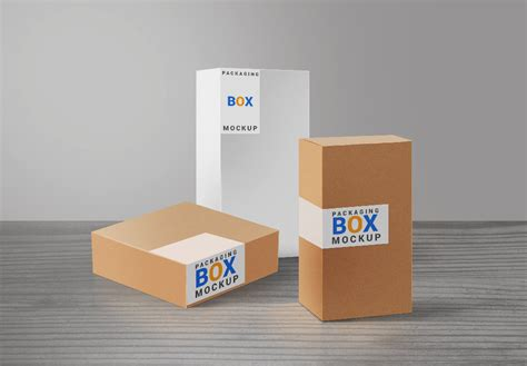 product packaging boxes mockup freebies fribly