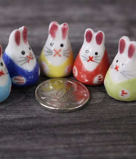 am駭agement mini cuisine mini rabbit porcelain figurines ecoponics