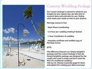 St thomas wedding packages weddings on st thomas and for St thomas honeymoon packages