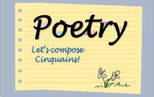 writing  cinquain poem poetry  easy  alice