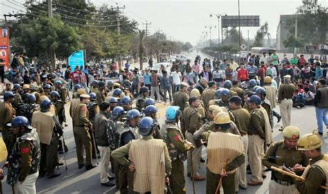 jat agitation resumes today section 144 imposed haryana
