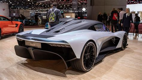 Aston Martin's Am-rb 003 Debuts In Geneva And Is Gunning