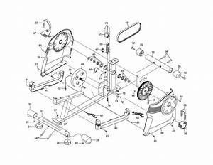 Frame  Resistance Mechanism Diagram  U0026 Parts List For Model
