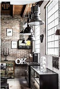 Le style industriel en soldes frenchy fancy for Best brand of paint for kitchen cabinets with french themed wall art