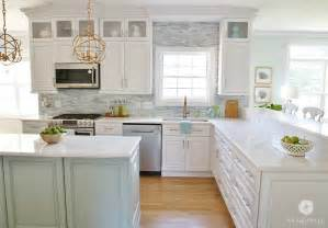 finishing kitchen cabinets ideas coastal kitchen makeover the reveal