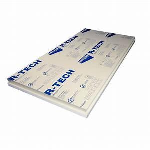 Super TUFF-R 2 in x 4 ft x 8 ft R-13 Foam Insulation