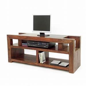 Meuble Tv Hifi : meuble tv design en palissandre zen salon style ethnique ~ Teatrodelosmanantiales.com Idées de Décoration