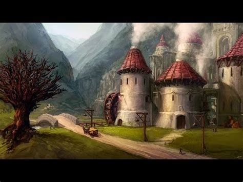 medieval  cobblestone village youtube