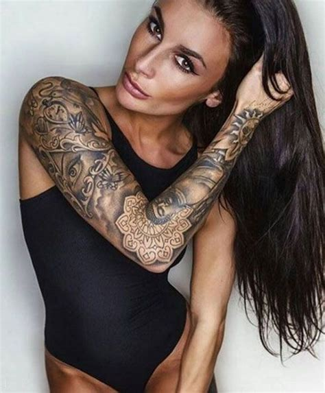 40 Attractive Sleeve Tattoos For Women — Tattoos On