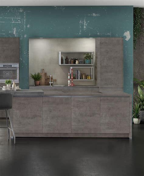 modele de cuisine clara beton ixina france