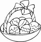 Easter Coloring Basket Egg Ostereier Malvorlagen Colouring Eggs Drawing Adults Colorful Ausmalbilder sketch template