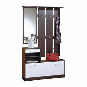 meuble entree vestiaire penderie With meuble porte manteaux pour entree 16 vestiaire entree conforama