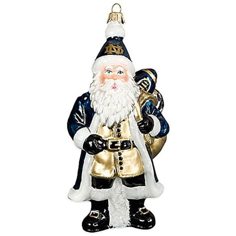 university of notre dame christmas ornament bed bath