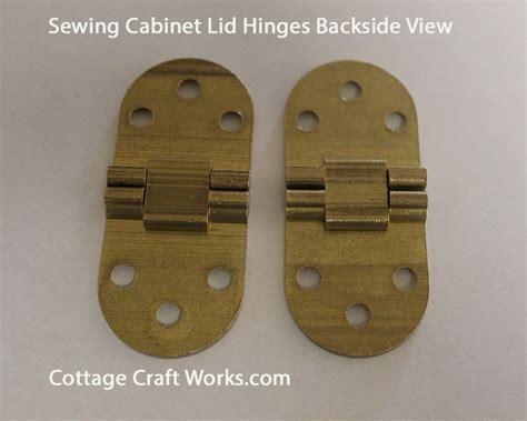 Sewing Machine Cabinet Lid Hinges