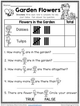 1st grade math worksheet bar graphs data and graphing for grade by chilimath tpt