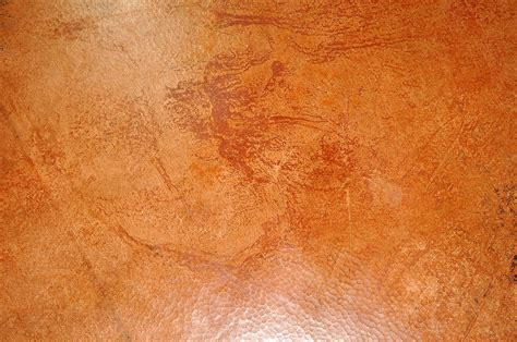 kitchen island bases rectangular copper table tops hammered custom