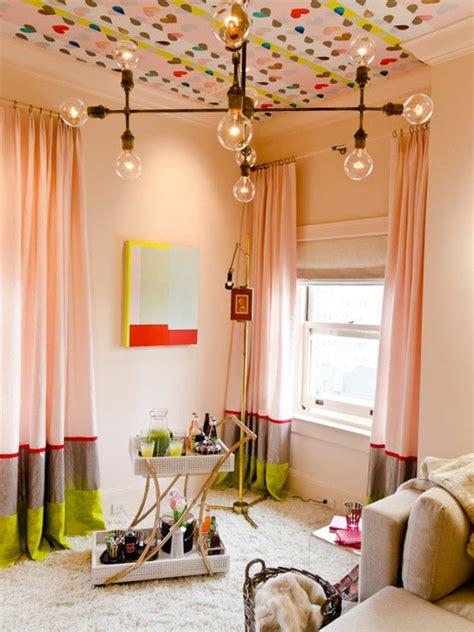 rideau pour chambre de fille rideaux chambre bebe deco chambre ado fille design rideau
