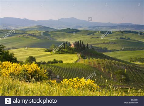 Val D Orcia Tuscany Italy Stock Photos And Val D Orcia