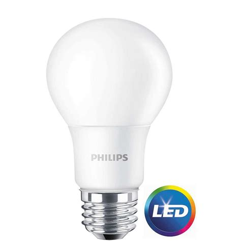 philips a19 dimmable led l philips 60w equivalent daylight a19 non dimmable led light