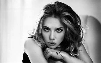 Scarlett Johansson Wallpapers Desktop Naked Monochrome Beatiful