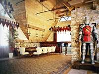 medieval home decor Castle Themed Interiors