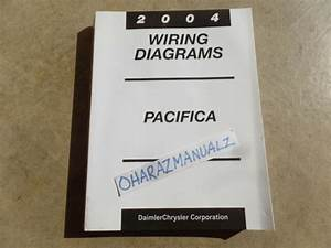 2004 Chrysler Pacifica Wiring Diagrams Manual Oem