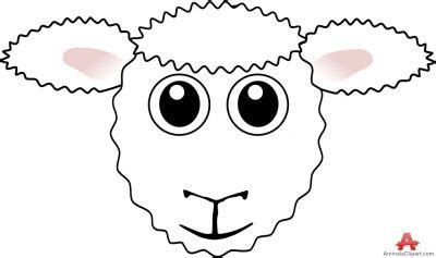 sheep face clipart   cliparts  images
