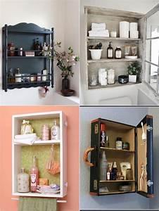 Diy Meuble Salle De Bain : meuble salle de bain r cup 70 id es pour une d co qui respire l authenticit obsigen ~ Mglfilm.com Idées de Décoration